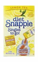 Diet Snapple Singles To Go Lemon Tea 6-count (pack Of 12) Free Shipping