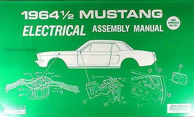 1964 Ford Mustang Electrical Assembly Manual Wiring ...