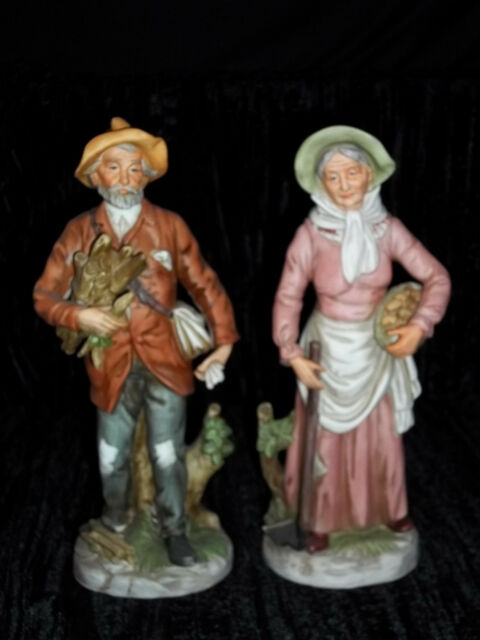 Old People Figurines Collection On Ebay