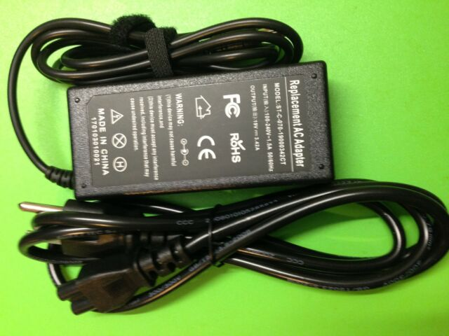 65W AC adapter power charger for eMachines E440 E442 E510 E520 E525 E527 E528