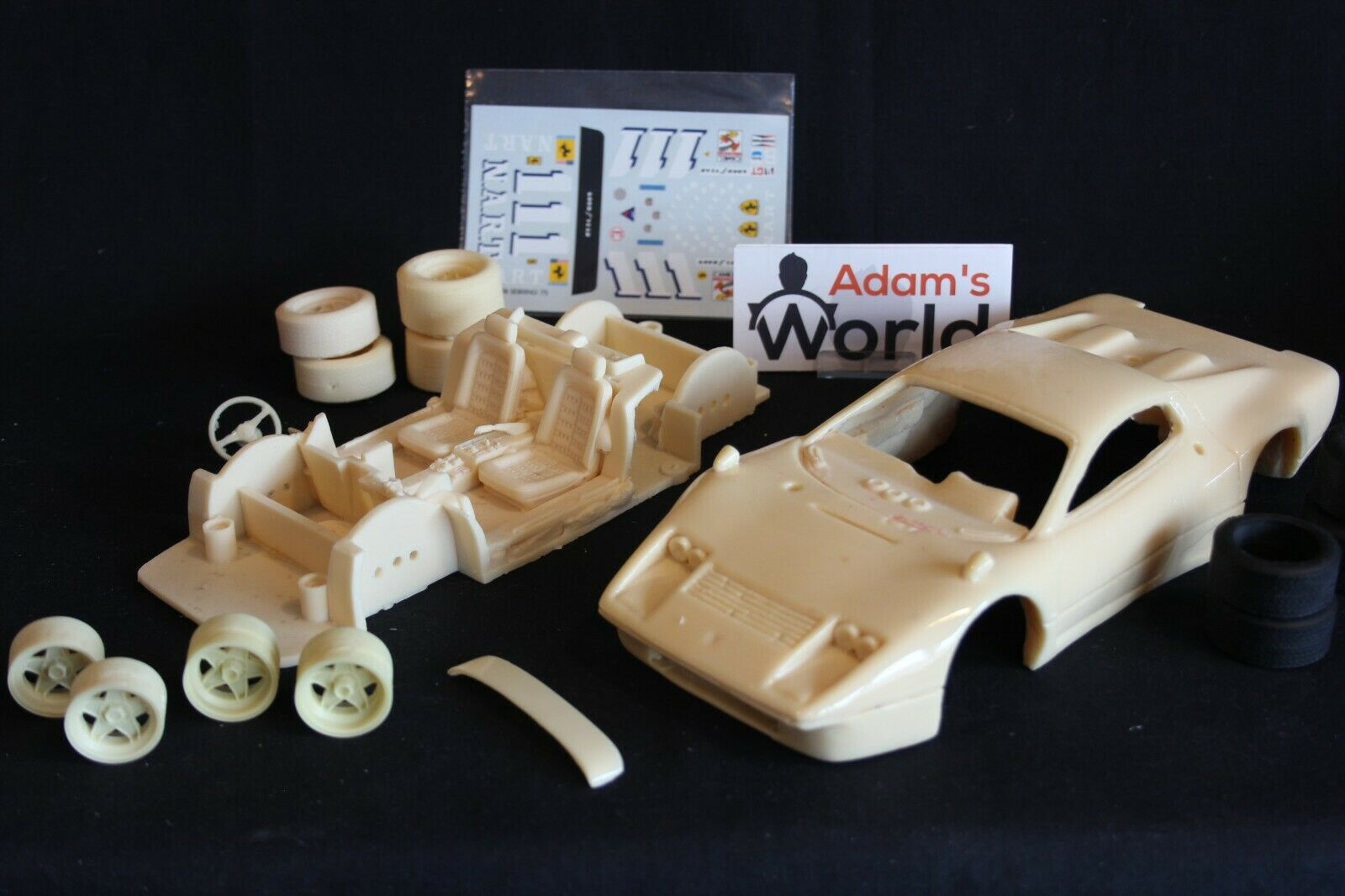 Davide Zorzi unbuilt kit Ferrari 365 GT4 BB 1975 1 18  111 12h Sebring (PJBB)