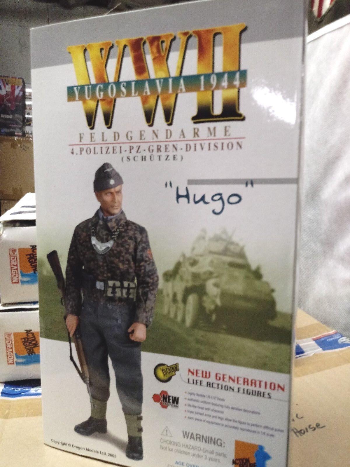 WW2  German 4th PZGR Polizei Div MP Hugo Yugoslavia 1944 1/6