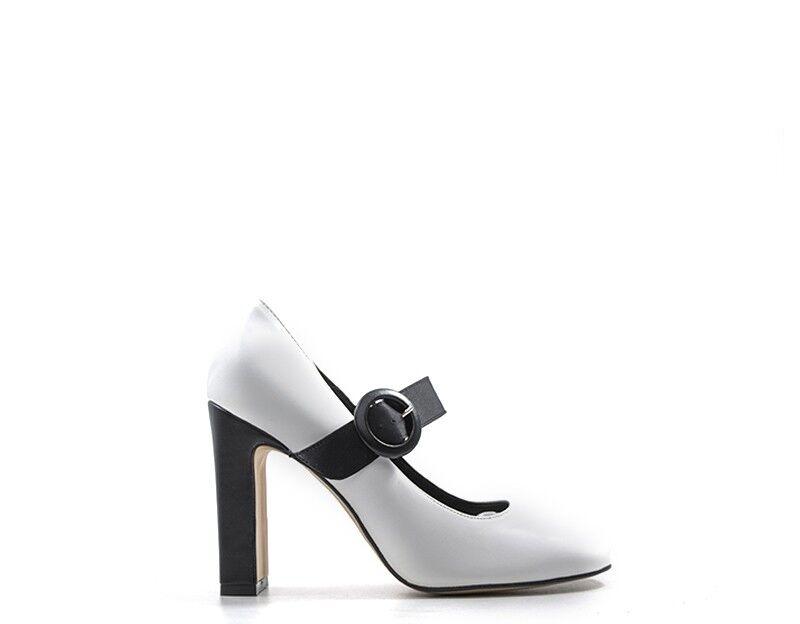Schuhe NEROFUMO NEROFUMO Schuhe Damenschuhe BIANCO/NERO  2025-BN d45ed5