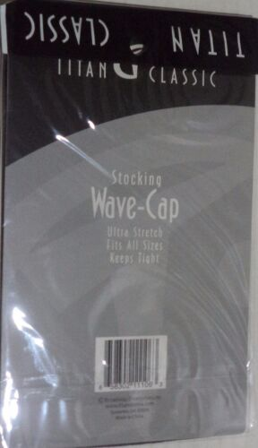 Two Titan Classic Stocking Wave-Caps one size fit all Color Blue