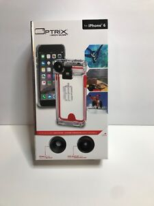 sale retailer cefc9 8408e Details about New Optrix by Body Glove CRC94767 2 Lens Action Camera Kit  for iPhone 6/6s