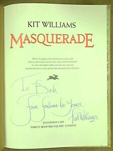 Masquerade-by-Williams-Kit-Hardback-Book-The-Fast-Free-Shipping