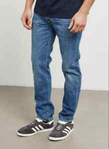 JEANS EDWIN HOMME ED80 SLIM TAPERED (kingston-clean wash) W34 L34 VAL 120€
