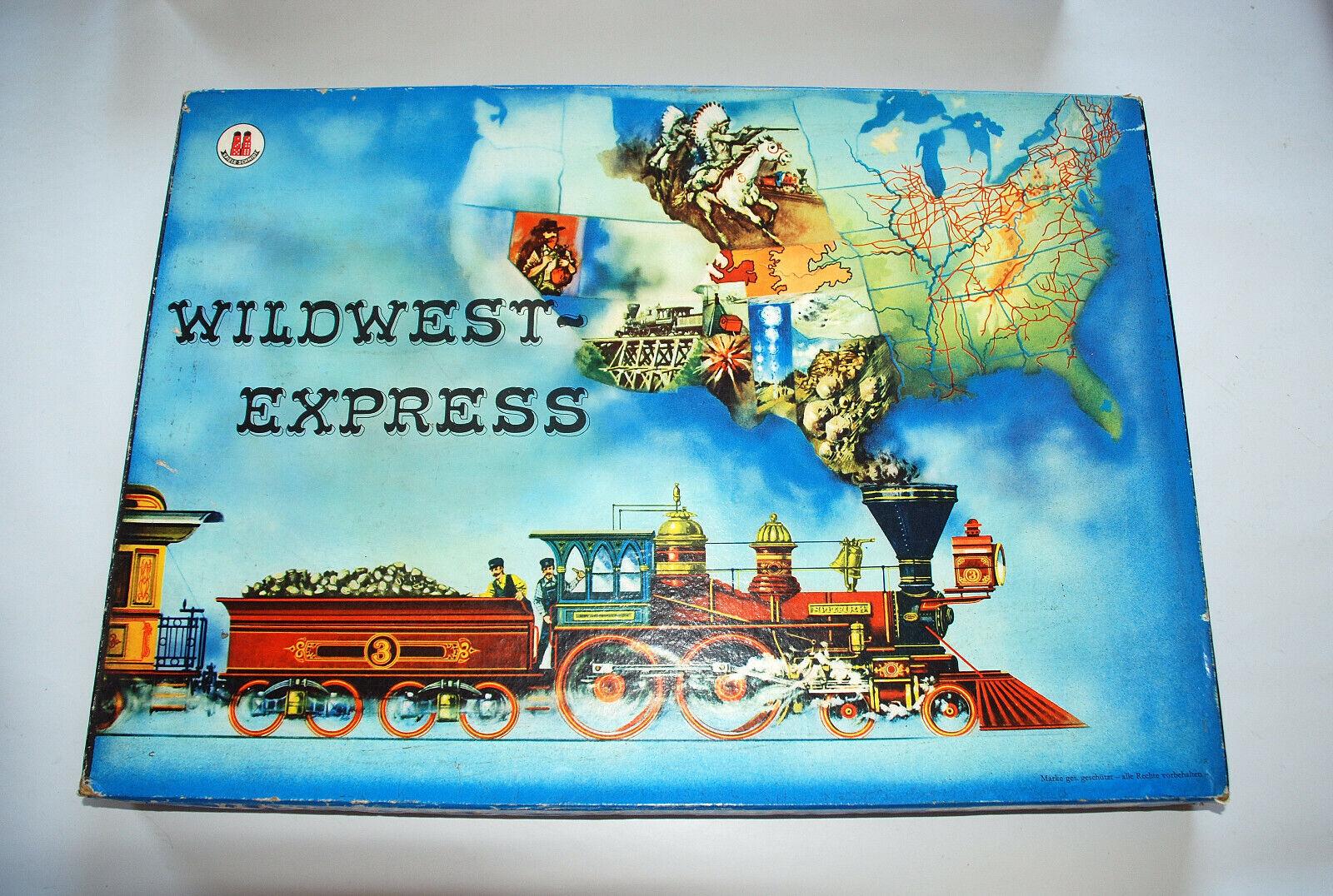 Wildwestexpress ein Spiel von Schmidt vollständig