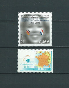 FRANCE-2003-YT-3542-a-3543-TIMBRES-NEUFS-LUXE