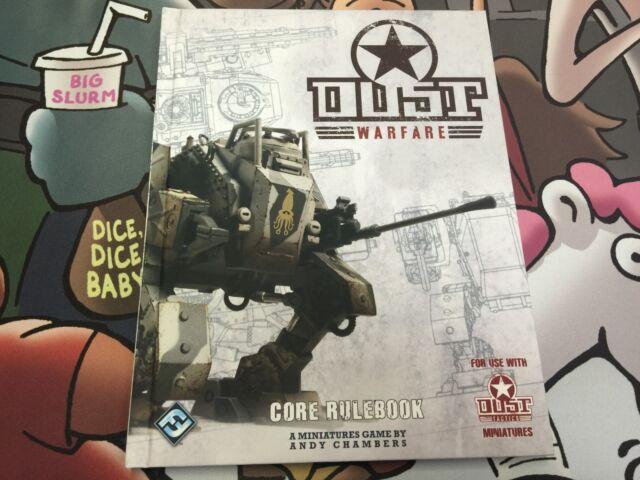 "Dust Studio: Dust Tactics - WARFARE CORE RULEBOOK"" - New"