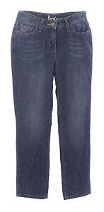 BODEN-Women-039-s-Medium-Blue-Straight-Cropped-Leg-Denim-Jeans-US-Size-4-Petite-NEW