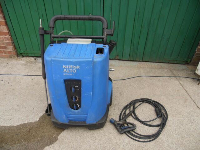 nilfisk alto neptune 2 pressure washer steam cleaner with lance and hose