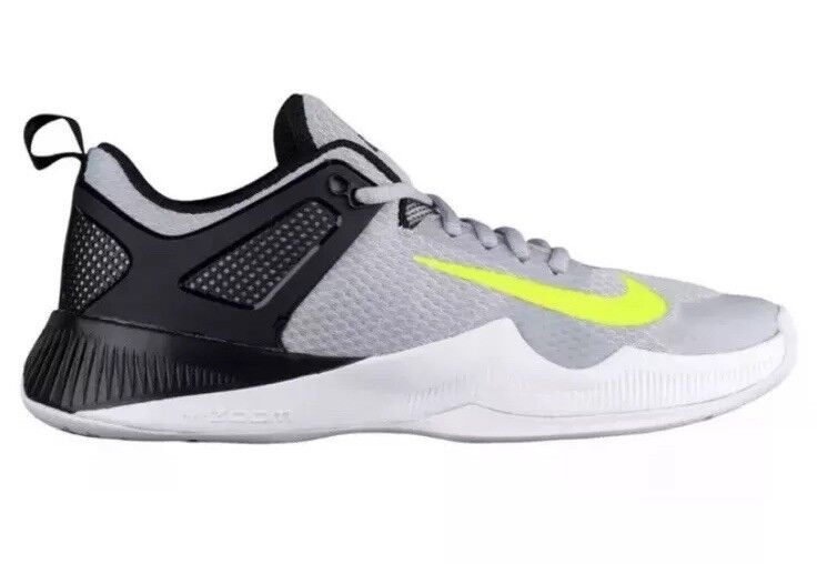 Nike Air Zoom Hyperace Volleyball shoes 902367-007 Women's US 8.5 Grey NEW  115