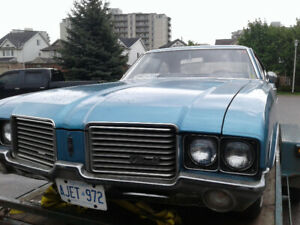 Oldsmobile - Numbers Matching - Original glass - Great Project