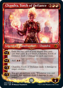 Mint-Near-Mint-English-1-x-MTG-Chandra-Torch-of-Defiance-Signature-Spellbook