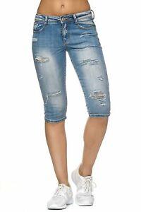 Shorts Damen Caprijeans 34 Capri Bermuda Hose Used