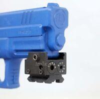 Mini Red Dot Laser Sight For Pistol/glock17 19 20 21 22 23 30 31 32 - U.s Seller