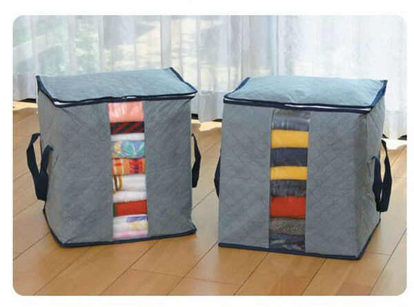 High Quality Bamboo Charcoal Fabric Clothing Dust Proof Storage Bags DS+F