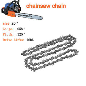 3x-Chainsaw-Chain-14-034-Cutting-bar-Semi-Chisel-84DL-72DL-76DL-Blade-Replacement