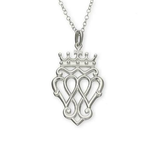 Made in Scotland Ortak Jewellery Luckenbooth Silver Necklace P171 RRP £94.00