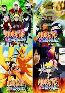 Details about Naruto Shippuden (Episode 1 - 500 End) ~ 25-DVD SET ~ English  Dubbed Version ~