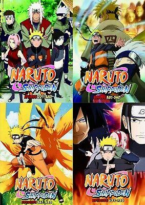 Naruto Shippuden Episode List