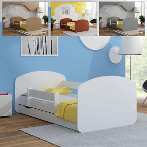 babybett kinderbett jugendbett matratze lattenrost schublade 140x70 160x80 ebay. Black Bedroom Furniture Sets. Home Design Ideas