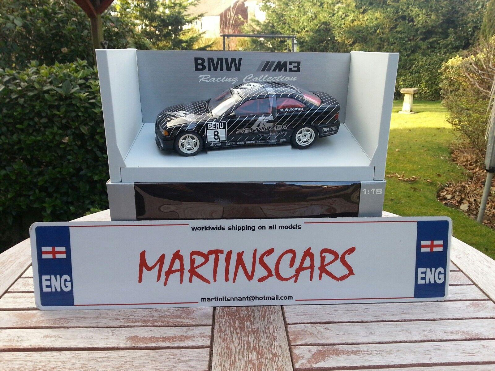 UT Minichamps AutoArt 1 18  BMW M3 Coupe  8 AC Schnitzer M. wollgarten 39440  mode classique