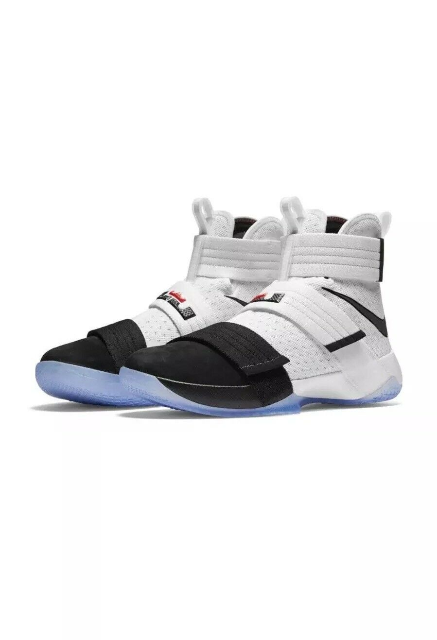 Nike LeBron Soldier 10 SFG White Black Oreo 844378-102 Size 11.5 New