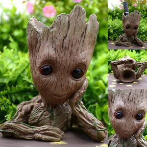 Neu-Guardians-of-the-Galaxy-BABY-GROOT-FIGUR-Blumentopf-Pflanztopf-Stil-StiftPot