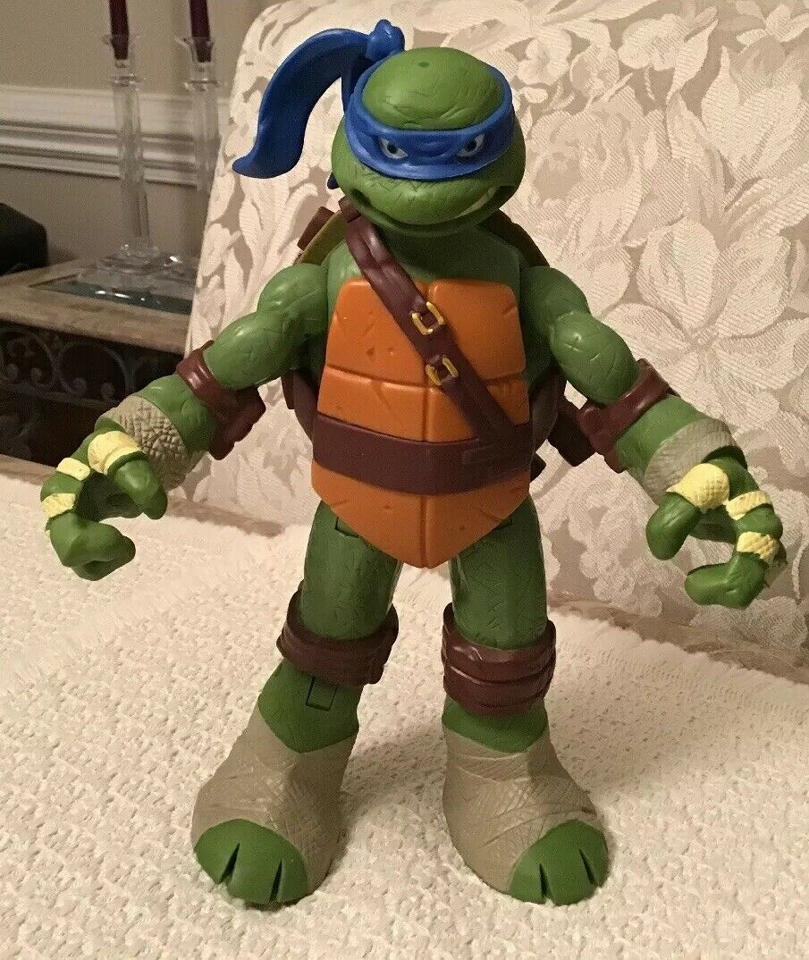 2006 TMNT Electronic Fusion FX Katana By Playmates Toys 55001 Leo Turtles