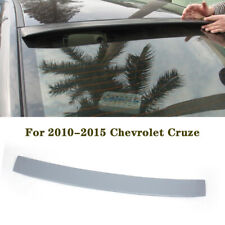 Rear Roof Spoiler Top Window Wing For Chevrolet Cruze 2010 2015 Gray Unpainted Fits Cruze