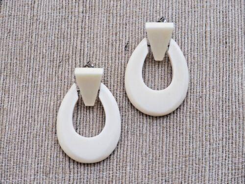 Bone Earrings Jewelry