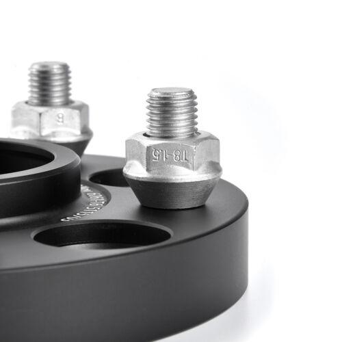 4 15mm//20mm Forged Aluminum 6061T6 Wheel Spacers for Tesla Model 3 Base Sedan
