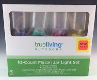 Mason Jar Light Set White Lights