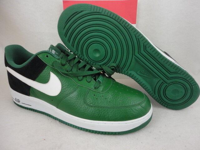 Nike Air Force 1, Gorge Green / White / Black, 488298 301, Size 14