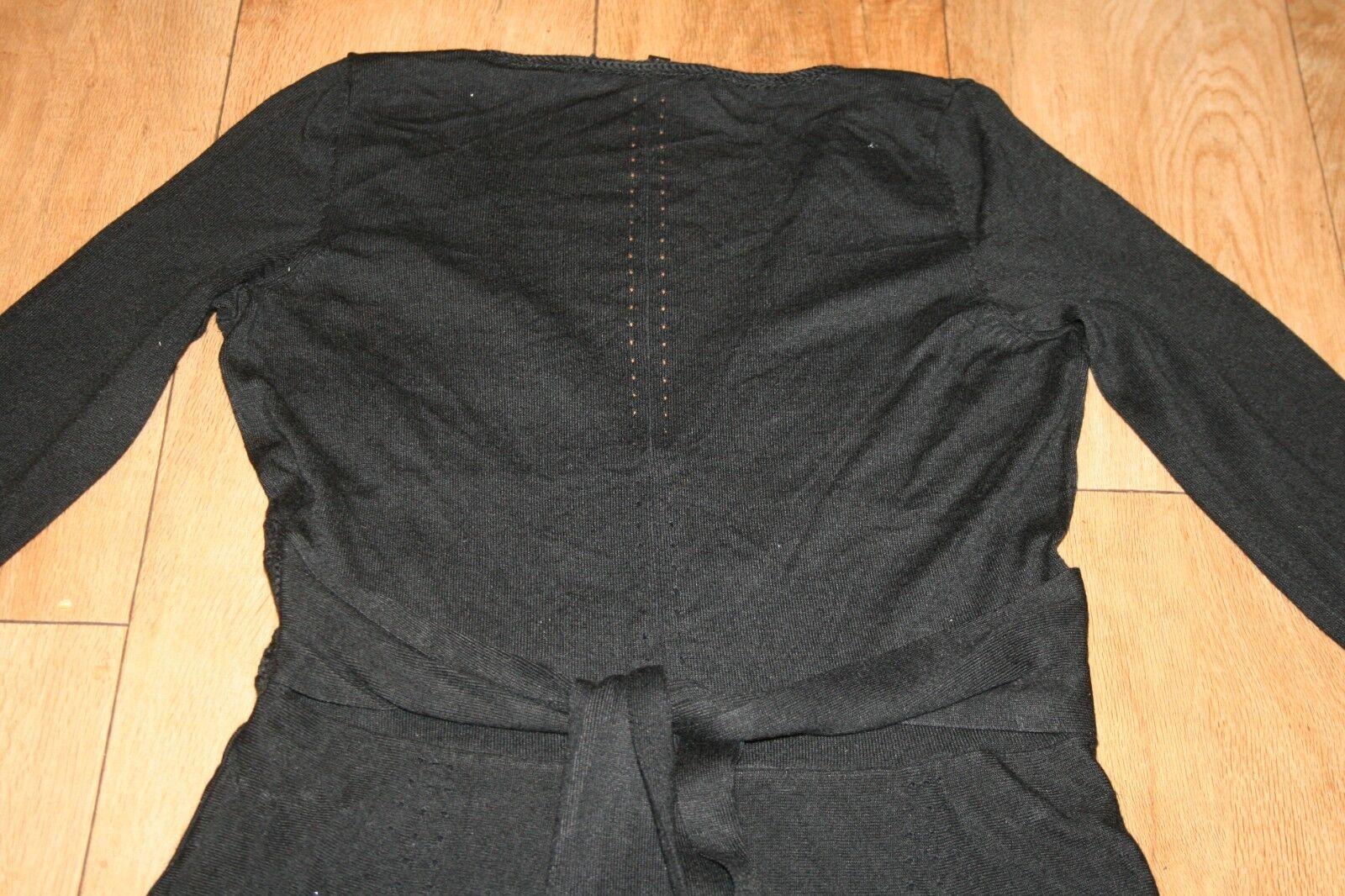 NUOVO  Vestito in maglia costa Taglia Taglia Taglia 10 Cavo Lavorato a Maglia Taglia anni'50 Rockabilly Skater Party a45aac