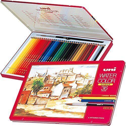 Mitsubishi Pencil watercolor pencil Uni water color UWC36C Import Japan