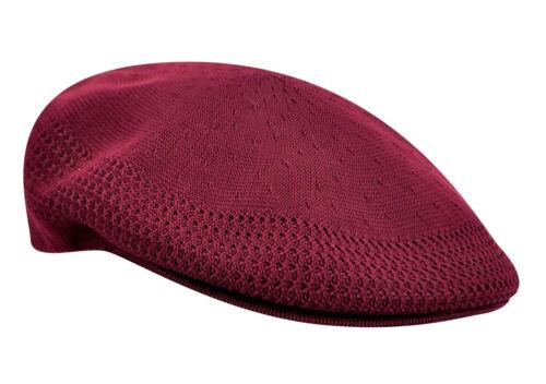 93f7f4809ad 1 sur 4Seulement 4 disponibles KANGOL Hat 504 Tropic Ventair Flat Cap  0290BC Summer Burgundy Sizes  S - XL
