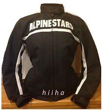 Alpinestars Stella Barcelona Motorcycle Women Jacket Black New Large $199
