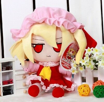 Anime Japanese Touhou Project Flander Scarlet Cosplay Plush Doll Toy cute