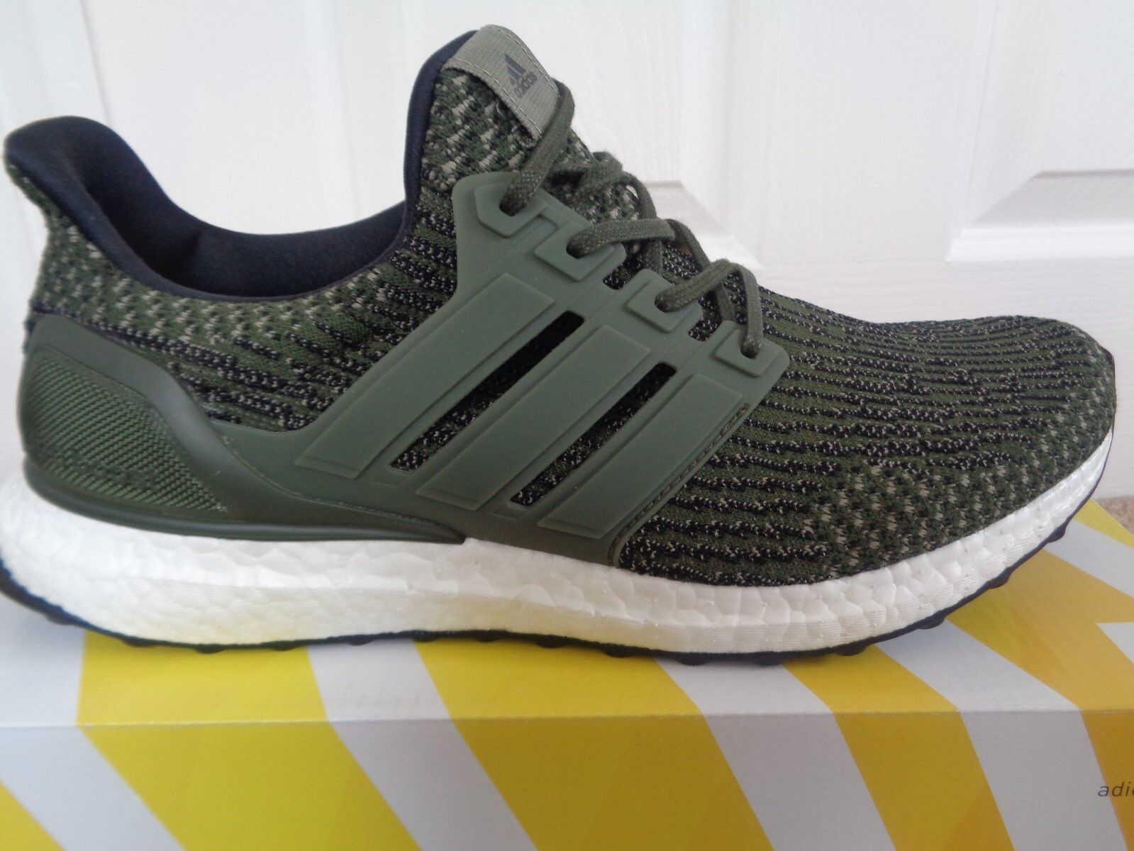 fe681644dc3 adidas Ultraboost 3.0 Ltd Trace Cargo UK 8 Khaki Olive Green Mens ...