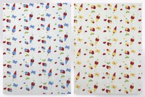 Conos de helado Imprimir Vestido de algodón tejido EM-icecreamconescot 065-redyellow-M