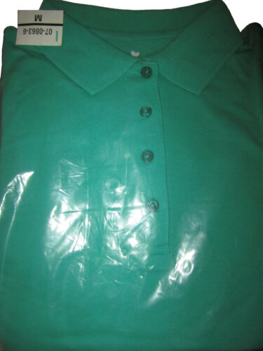 Women/'s Perfect Polo Tunic T-Shirt Top NEW with Long Sleeves Plus Big Size M-5XL