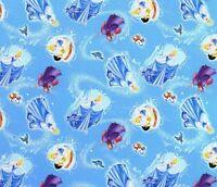 Fat Quarter Disney Cinderella Characters Toss 100% Cotton Quilting Fabric