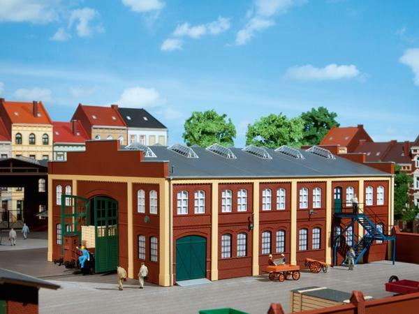 Auhagen Factory or Workshop 11422  HO Scale (suit OO also)