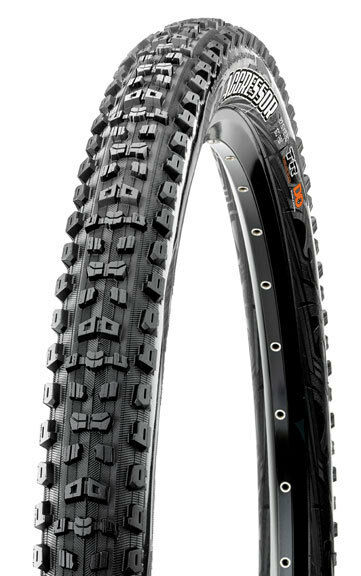 Maxxis Aggressor Tubeless Ready DD Mountain Bike Tire  AM DH XC 650b 27.5 x 2.3   export outlet