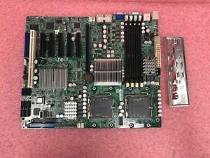 TESTED-Supermicro-X7DWE-LGA771-32gb-DDR2-ATX-Server-Motherboard-w-I-O-Shield