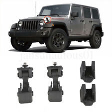 Fit Jeep Wrangler Tj 1997 2006 Hood Latches Catch Locking Anti Thief Hood Lock Fits 1997 Jeep Wrangler