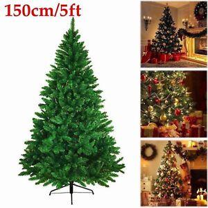 5ft Christmas Tree 1 5m Luxury Green Colorado Imperial Xmas Metal Stand Decor Ebay